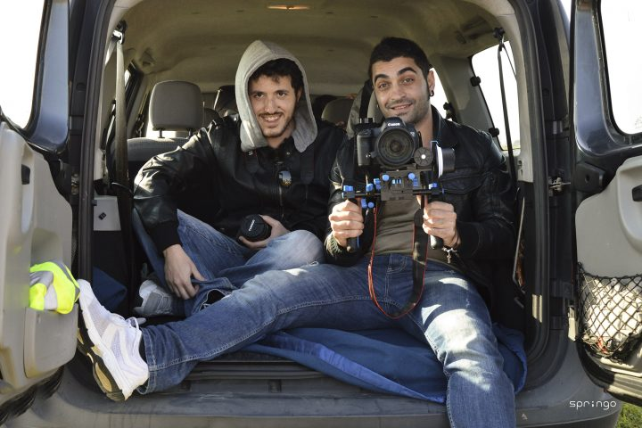 videoclip on the road - Federico Mudoni e Andrea Barba